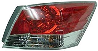Taillight Taillamp Right Passenger Side Rear for 08-12 Honda Accord 4 Door Sedan
