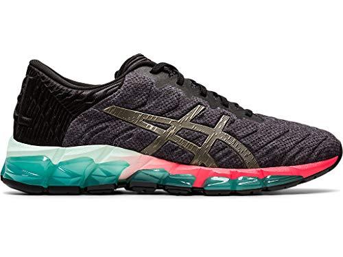 ASICS Zapatillas de correr Gel-Quantum 360 5 para mujer, negro (Negro/Plomizo), 36 EU