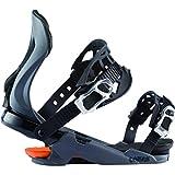Rossignol Cobra Rtl - Fijaciones de snowboard para hombre, talla única, color gris