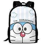 Doraemon personalizado encantador mochila casual mochila mochila mochila viaje mochila regalo