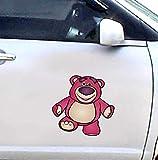 Toy Story - Lots-O'-Huggin 'Bär - Cartoon Auto Autoaufkleber Aufkleber - 18 Cm Hoch