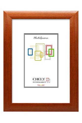 Chely Intermarket, Marco de Fotos Grandes 60x90 cm (Cerezo) MOD-257, Hecho Madera sólida, Ancho de Bastidor 1,90 cm con Acabado Elegante (257-60x90-6,34)