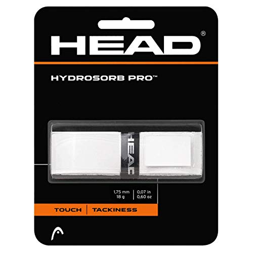 HEAD Unisex-Erwachsene Hydrosorb Pro Griffband, White, Einheitsgröße