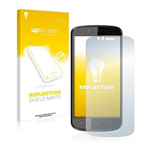 upscreen Entspiegelungs-Schutzfolie kompatibel mit Archos 50e Helium – Anti-Reflex Bildschirmschutz-Folie Matt