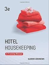 Best hotel housekeeping training manual books Reviews