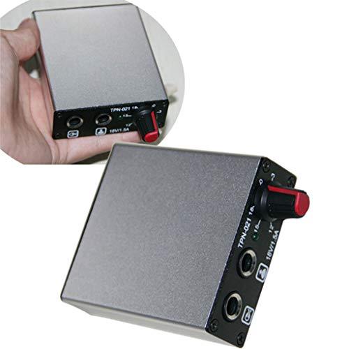 SHENG Mini Tattoo Power Controler, rood/zilver/blauw 3 kleuren verkrijgbaar