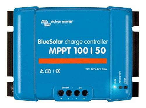 Victron Energy Bluesolar MPPT 100/50, 12-24 V, 50 A, Solarladeregler VE Direct, 1 Stück, SCC020050200