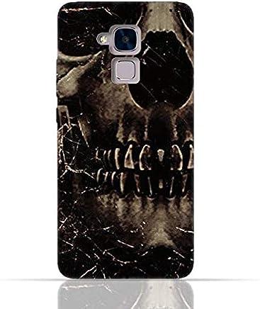 Huawei Honor 5c/Huawei Honor 7 Lite/Huawei GT3 TPU Silicone Case With Dark Skeleton Pattern