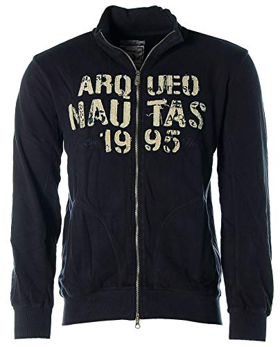 ARQUEONAUTAS® Sweatjacke Sweat Jacke Navy L