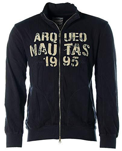 ARQUEONAUTAS® Sweatjacke Sweat Jacke Navy M