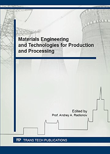 Materials Engineering and Technologies for Production and Processing (Materials Science Forum)の詳細を見る