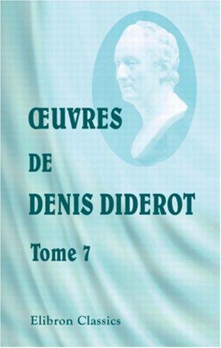 Œuvres de Denis Diderot: Tome 7. Romans et contes. III