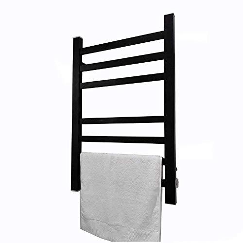 DGHJK Handtuchwärmer an der Wand montiert, elektrischer Handtuchwärmer mit Thermostat, elektrisch beheizter Handtuchhalter Geeignet für Hotels und Privathaushalte, 800x600x110mm