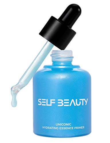SELFBEAUTY UNICONIC Hyaluronic Acids Hydrating Face Serum to Primer Moisturizer in One 1.01fl.oz - 5-IN-1 High-Spreadability Long-lasting Foundation Primer Silicon-Free Cruelty-Free30ml