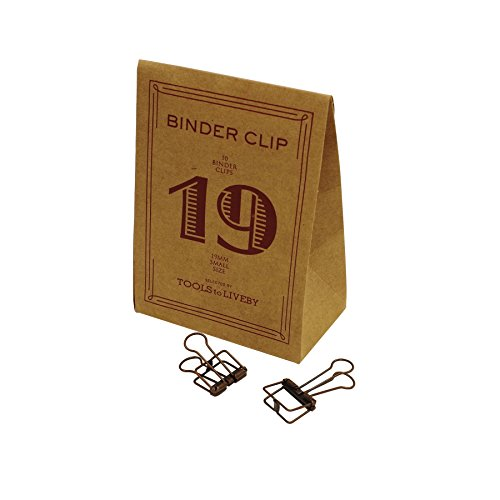 BINDER CLIP/バインダークリップ 19 TTLB【ブロンズ】 TL018-BZ