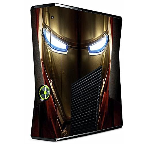 VINILOL Vinilo para Xbox 360 Slim pegatina cubierta Ironman skin para consola. v4