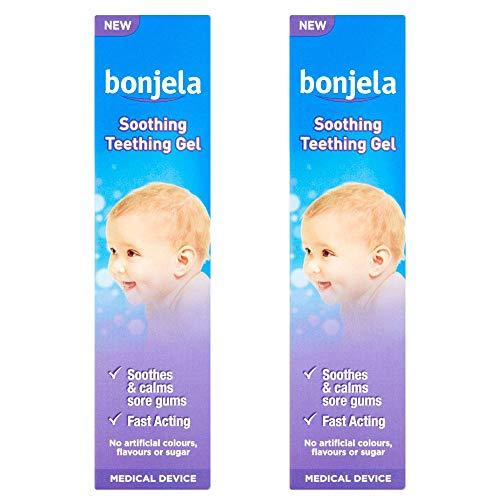 2 x 15ml Bonjela Baby Todler Teething Gel Soothing Fast Acting Kids Children