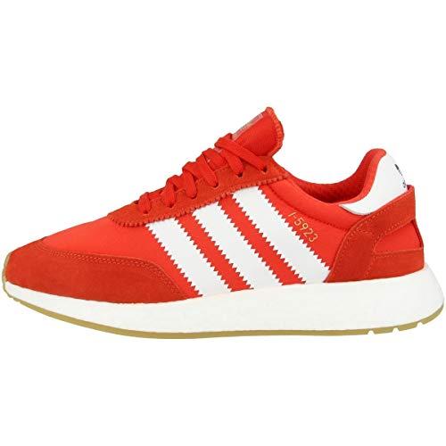 adidas adidas Herren Iniki Runner Sneaker, Red White, 42 EU
