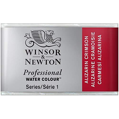 Winsor & Newton Artists - Acuarela (Godet Completo), Color carmín de alizarina