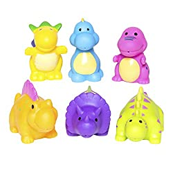 2. Elegant Baby Bath Time Fun Rubber Water Squirties