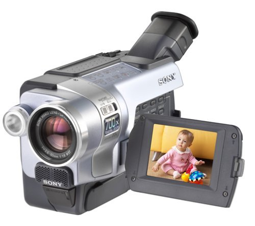 Sony Digital8 Camcorder DCR-TRV350 Sony Handycam Digital8 Player Hi8 Camcorder