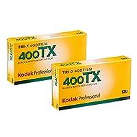 Kodakプロフェッショナル 白黒ネガフィルム モノクロフィルム TRI-X400 120 5P x 2(10本パック)