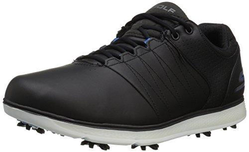 Skechers Performance Men's Go Golf Pro 2 Golf Shoe,Black/Blue,11 M US