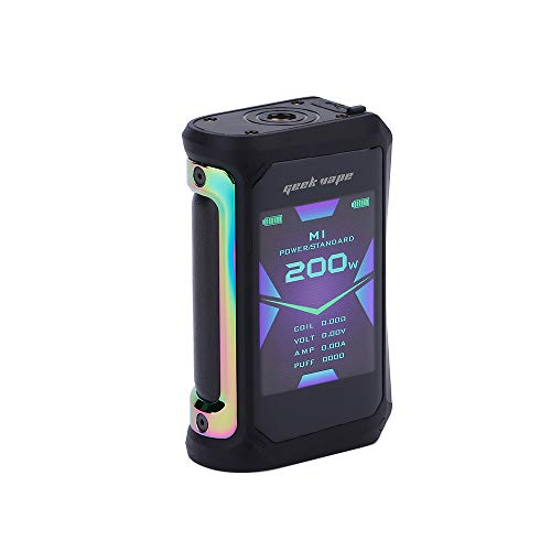 E Cigarette Geekvape Aegis X 200W TC Mod with 2.4 inch OLED Screen and IP67 Waterproof Design...