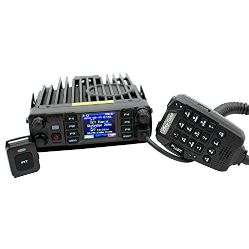 AnyTone AT-D578UVIII Plus Tri-Band DMR Mobile Radio - with Air Band...