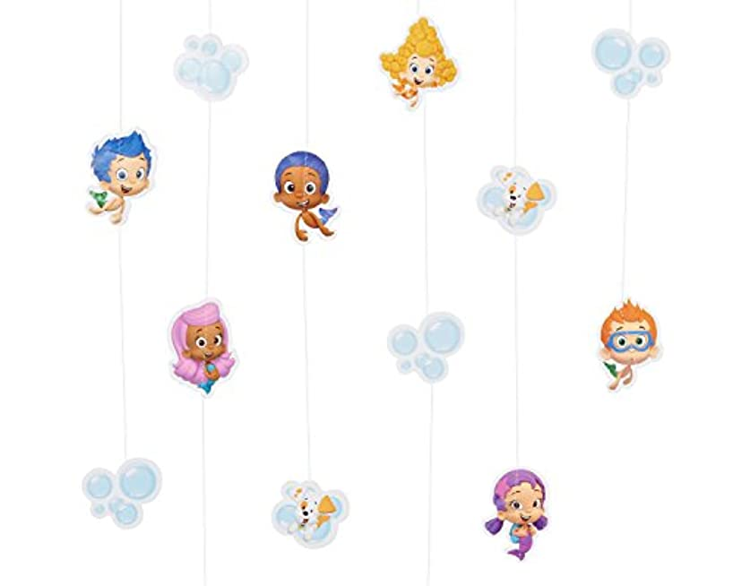 Bubble Guppies Hanging Party Decorations, Party Supplies