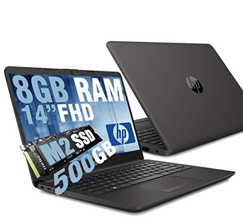 "Notebook HP 240 G8 Portatile Pc Display 14"" Full HD IPS /Cpu Intel Dual Core N4020 Fino a 2.80Ghz /Ram DDR4 8GB /SSD M.2 500GB /Intel UHD Graphics /Hdmi Wifi Bluetooth Lan Usb Type-C /Windows 10 64bit"