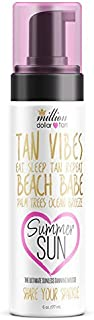 Get a Back From Vacation Complexion with Million Dollar Tan's Summer Sun Tanning Mousse