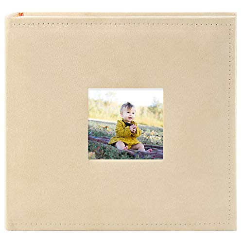 Golden State Art, 4x6 Inch Small Photo Album Book for Anniversary, Wedding, Traveling,Couple,Baby, Dog Memory,Girl and Boy Friend Gift Holds 200 Pictures 55018-1
