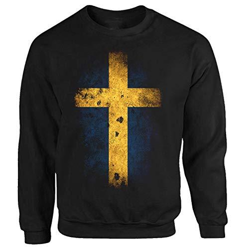 P-T-D Schweden Sweatshirt schwarz (XXL)
