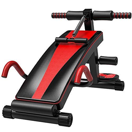 InChengGouFouX Situp Sit Up Board Regolabile Regolabile Sit-up Training Board Pieghevole e Regolabile Progettazione Attrezzature for Il Fitness Rifiutare Attrezzature per Esercizi