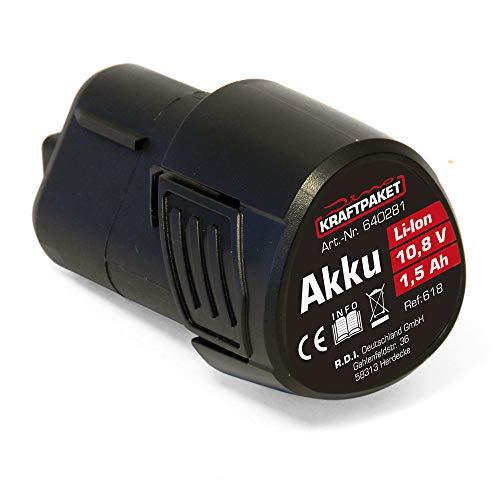 Dino KRAFTPAKET AKKU 10,8V 1,5Ah für Akku-Poliermaschine 640256 640281 Werkzeug-Akku 1.5Ah