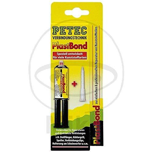 Petec 98325 Klebstoff 2k Plastbond Pet schwarz, 24 ml