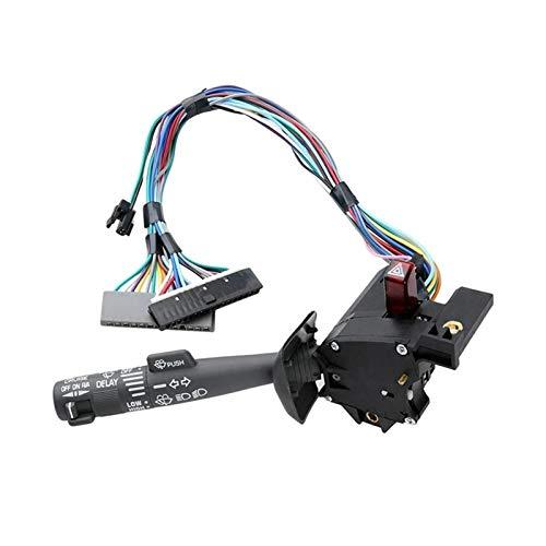MSJFUBANGBM FUBANGBM Combinación multifunción Interruptor de señal de Giro, limpiaparabrisas, Interruptor de Peligro Adecuado para Chevy Tahoe Suburban Blazer GMC (Color :...