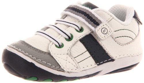 Stride Rite Soft Motion Artie Sneaker (Infant/Toddler),White/Navy,5 M US Toddler