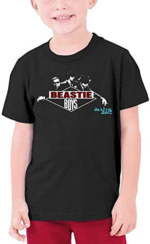 XCNGG Jungen Tops T-Shirts Fans Club Shop Beast-ie Boys T Shirt Kids Youth Fashion 3D Print Short Sleeve for Boys and Girls