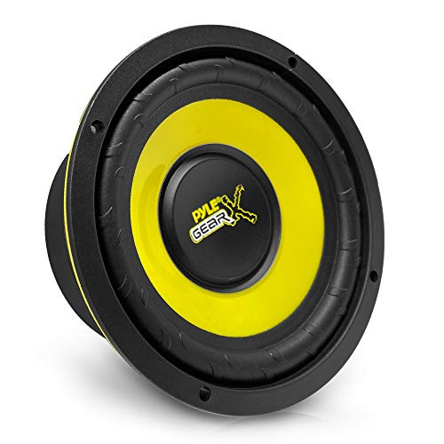 """Pyle Car Mid Bass Speaker System - Pro 5 Inch 200 Watt 4 Ohm Auto Mid-Bass Component Poly Woofer Audio Sound Speakers For Car Stereo w  30 Oz Magnet Structure, 2.2"""" Mount Depth Fits OEM - PLG54"""
