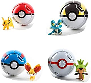 Pokemon Genie ball set includes 4 Spirits
