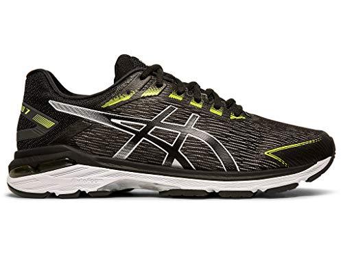 ASICS Men's GT-2000 7 Twist Running Shoes, 8M, Black/Black
