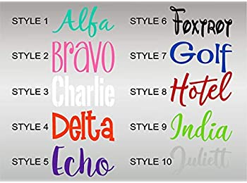 "Bermuda Shorts Graphics Personalized Name Decal/Tumbler Sticker/Custom Vinyl Laptop Skin Decal Sticker (2"" x 4"" Decal)"