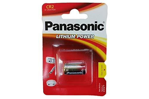 Lot de 10 Piles au Lithium Cr2 Dlcr2 pour Appareil Photo 3 V de Panasonic