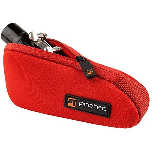 ProTec N275RX Mundstücktasche, für Tenorsaxophon- / Tuba-Mundstücke, Neopren - Design, Rot