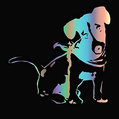 A/X Sticker de Carro 30316# Varios tamaños/Colores Jack Russell Terrier Perro Pegatina para Coche calcomanía Pegatinas Impermeables en la Ventana Trasera del Parachoques del camión