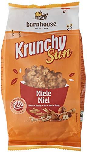 Barnhouse Krunchy Sun Muesli Cereales Ecológico, Vegetariano, Miel, 375 G