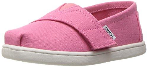 TOMS Mädchen Alpargata Classic Espadrilles, Pink (Bubblegum Pink Canvas 650), 28.5 EU