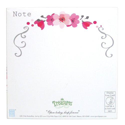 3D Greeting Card - PINK BUTTERFLIES - All Occasion Photo #2